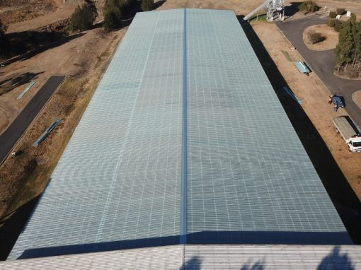 Wetalla Water Treatment Solar Hall Roof Sheeting Replacement